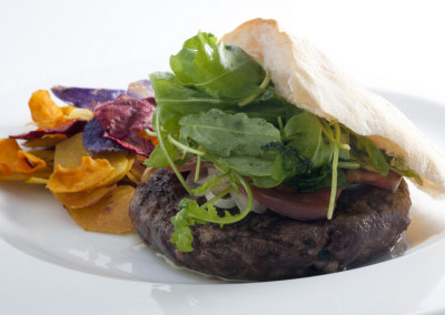 Surlonge Burger. Baril de Goya